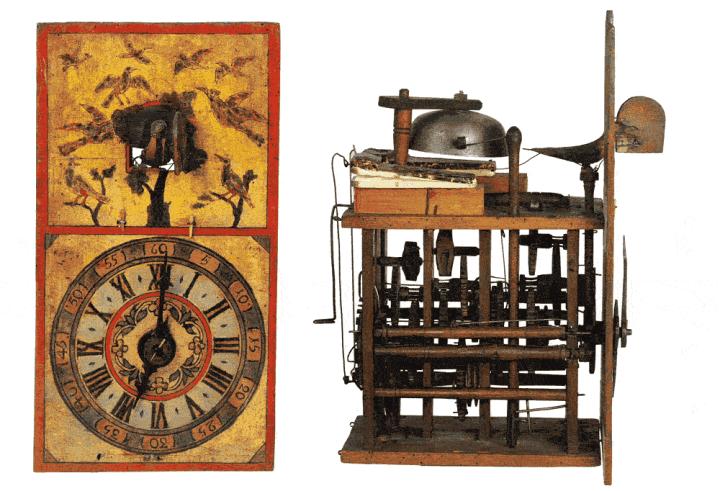 Historic Cuckoo clock, Black Forest