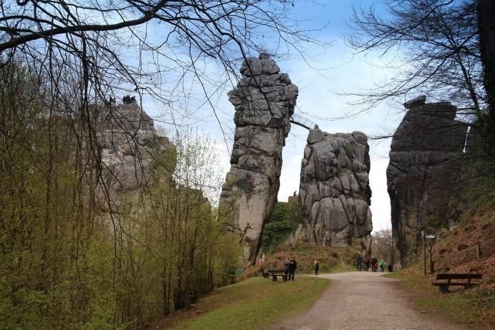 Externsteine, Teuteburger Wald