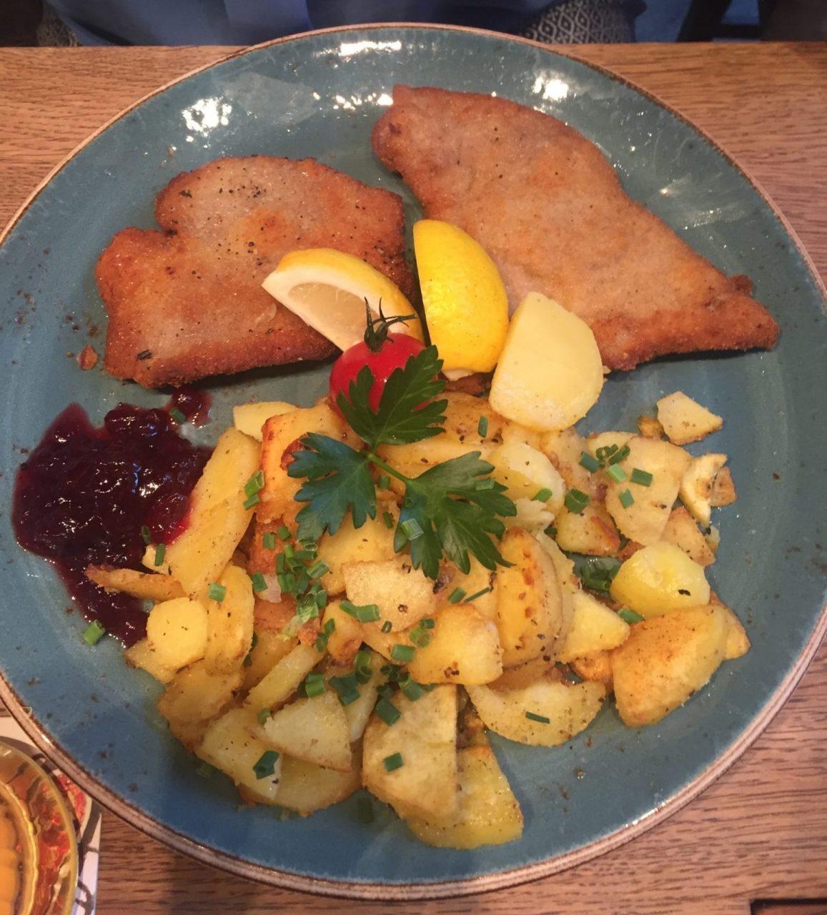 Wiener Schnitzel Plate
