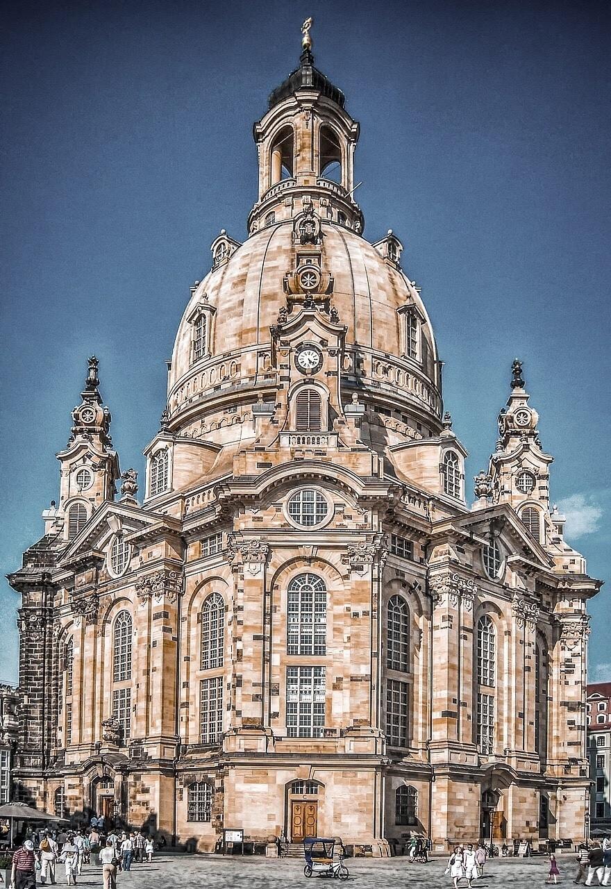 Frauenkirche, Dresden, Saxony