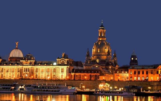 Dresden at night