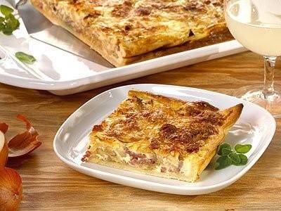 Zwiebelkuchen, German onion tart