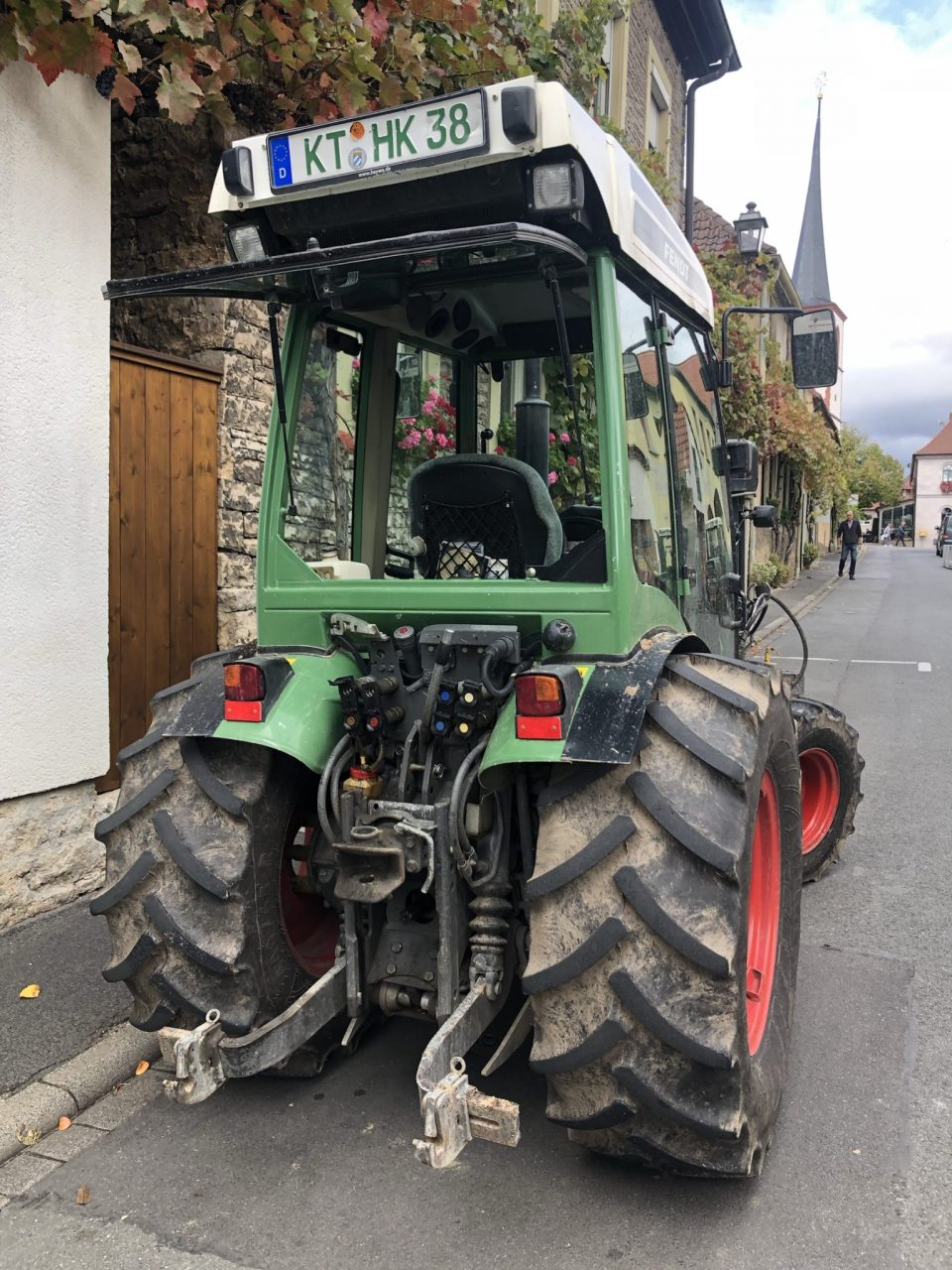 Vintners Tractor