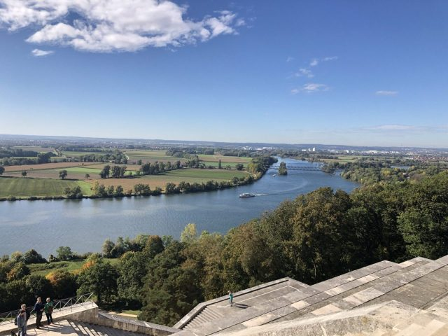 View from the Walhalla memorial
