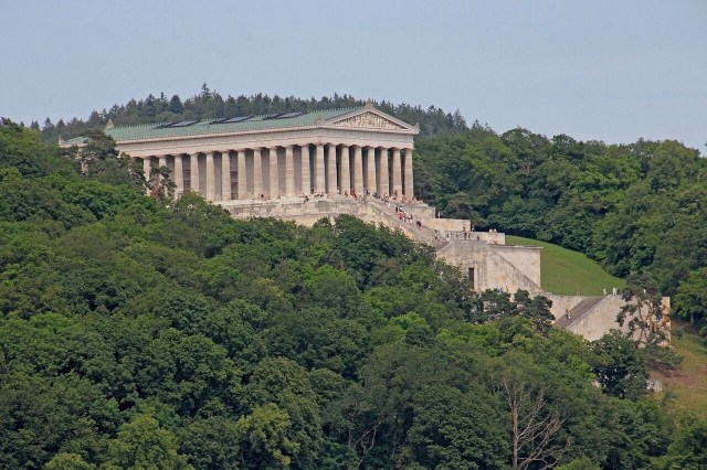 Walhalla Memorial or Temple is only 15 minutes from Regensburg