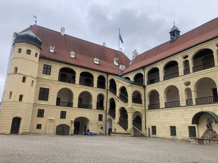 Trausnitz castle Landshut exterior