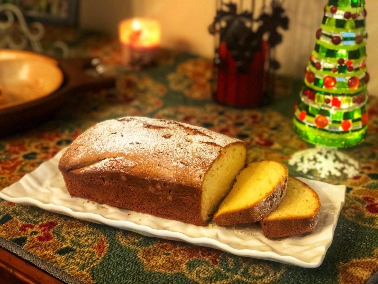 Egg Liquor cake, Eierlikörkuchen