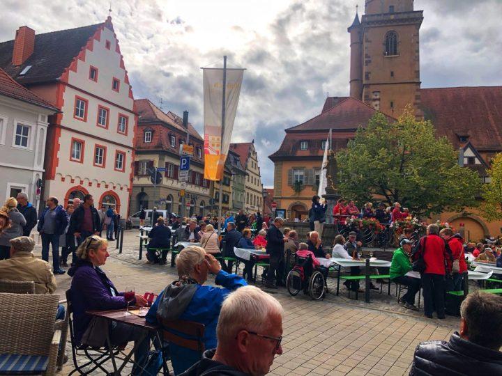 Volkach Weinfest, Franconia