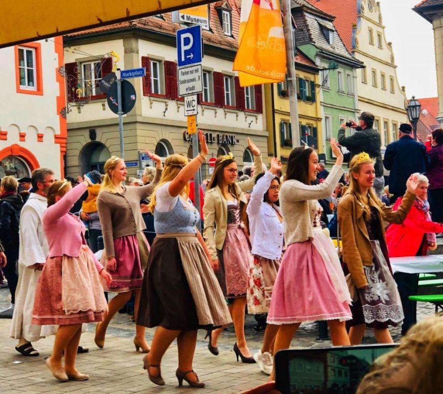 Volkach Wein Festival, Bavaria, Franconia Trachten