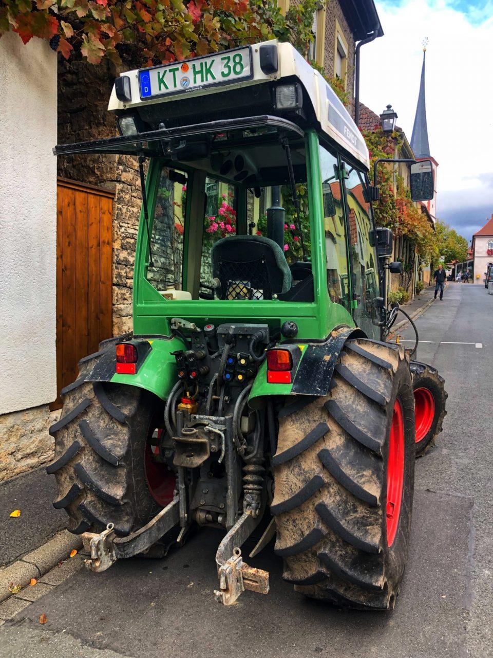 Volkach vineyard tractor, Franconia