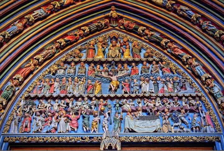 Freiburg Cathedral, Muenster entrance
