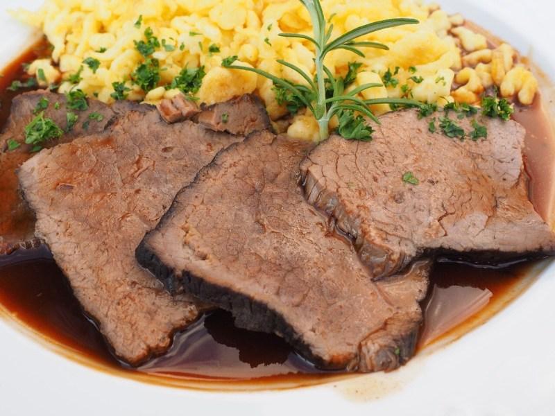 Sauerbraten or Beef roast