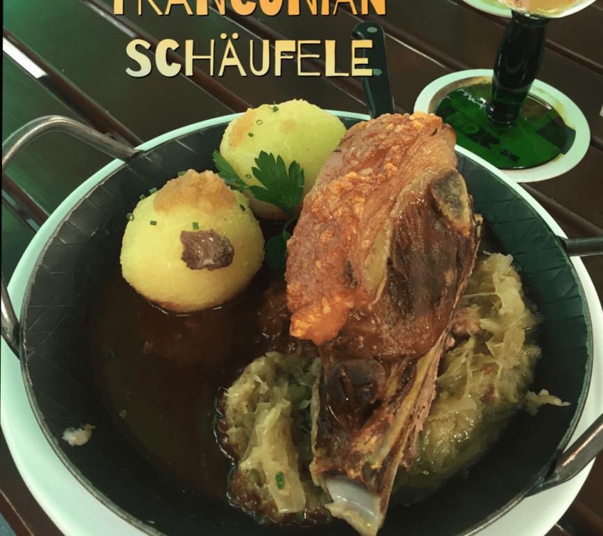 Schaufele, Franconia dish, Wuerzburg, meal