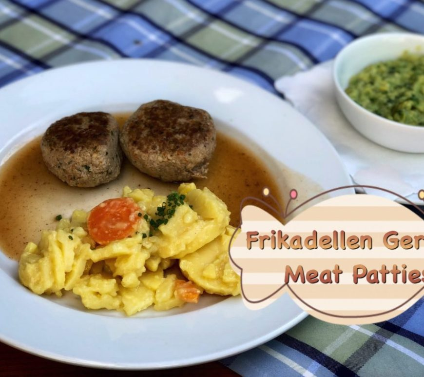 German meat patties, Fleischkräpfle , Frikadellen, Buletten