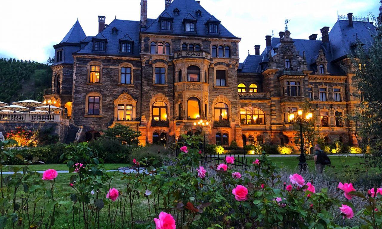 Lieser castle, Lieser Schloss, Castle at the Mosel river