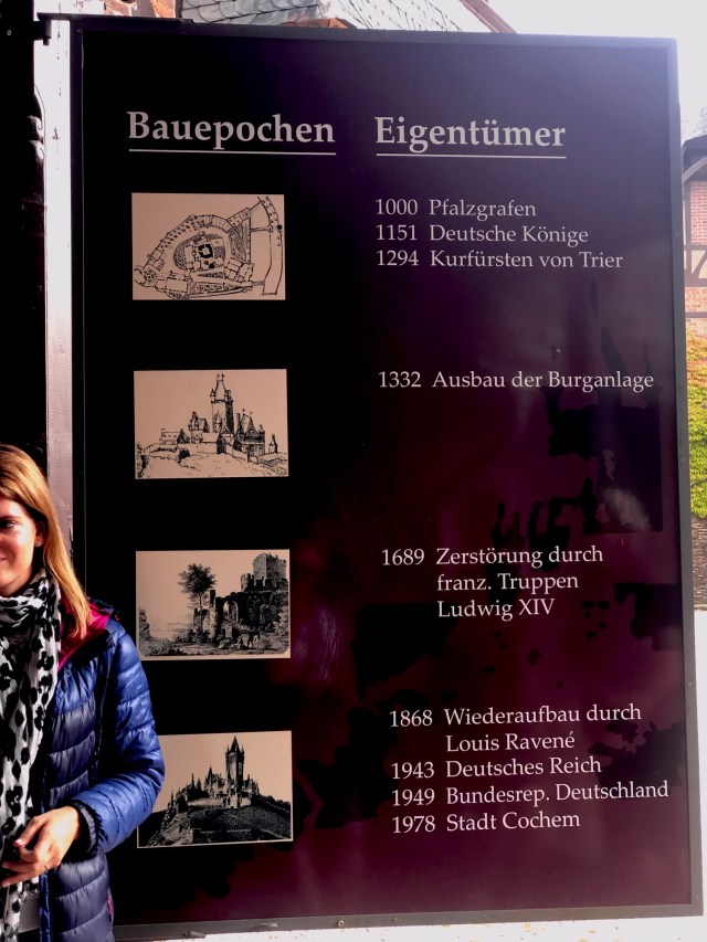 Cochem castle tour Guide, history
