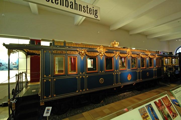 King Ludwig II of Bavaria Royal train