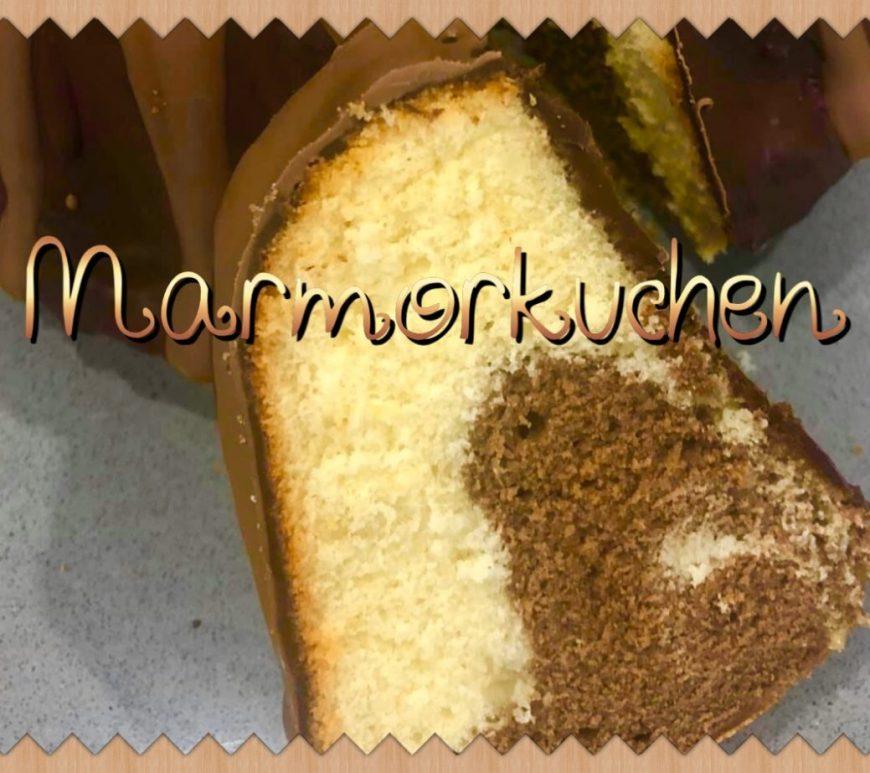 Marmorkuchen or German Marble Cake