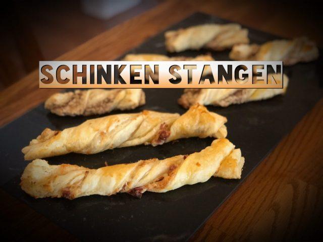 Käse-Schinken Stangen, Cheese-Prosciutto Twists, Parmesan twists