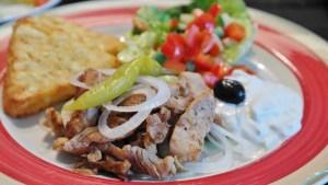 Doener plate, Turkish food