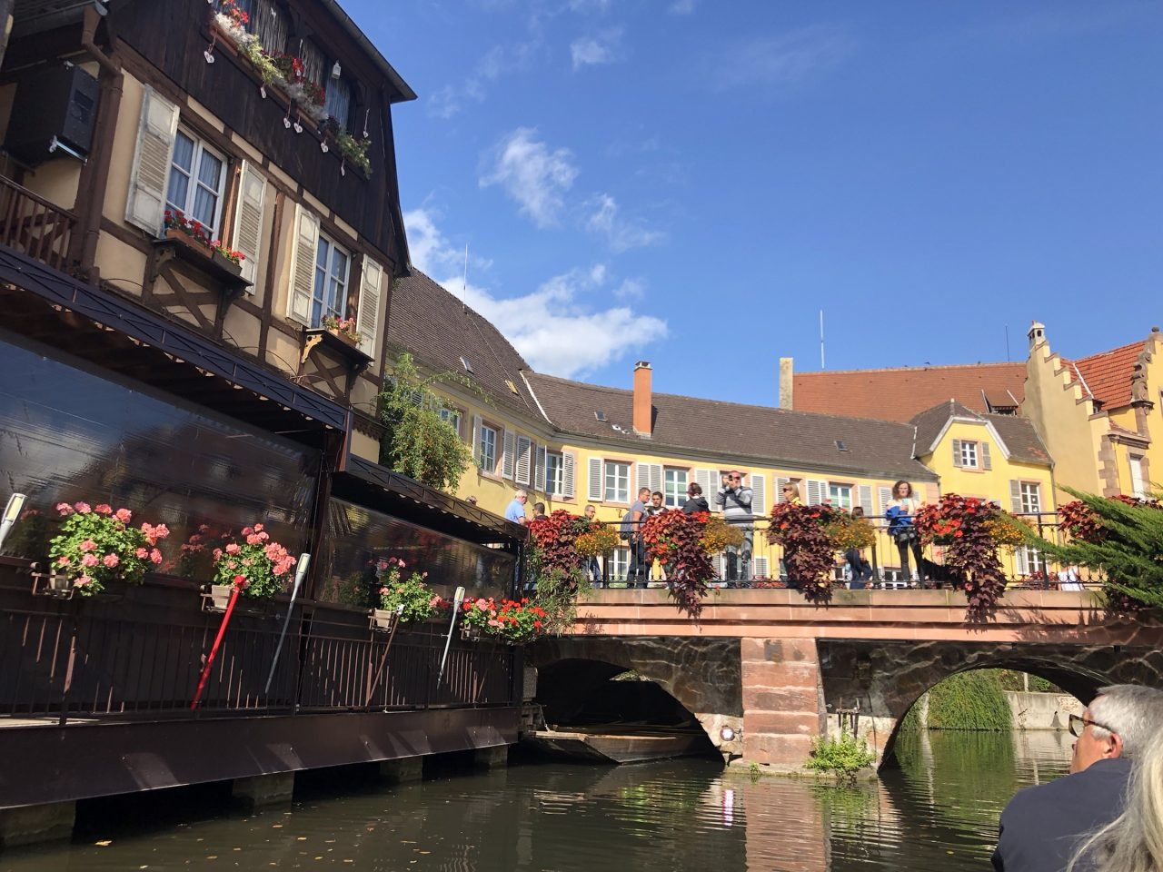 Colmar, France boat ride