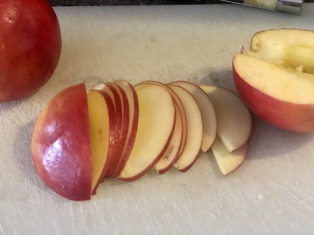 slice apple thin