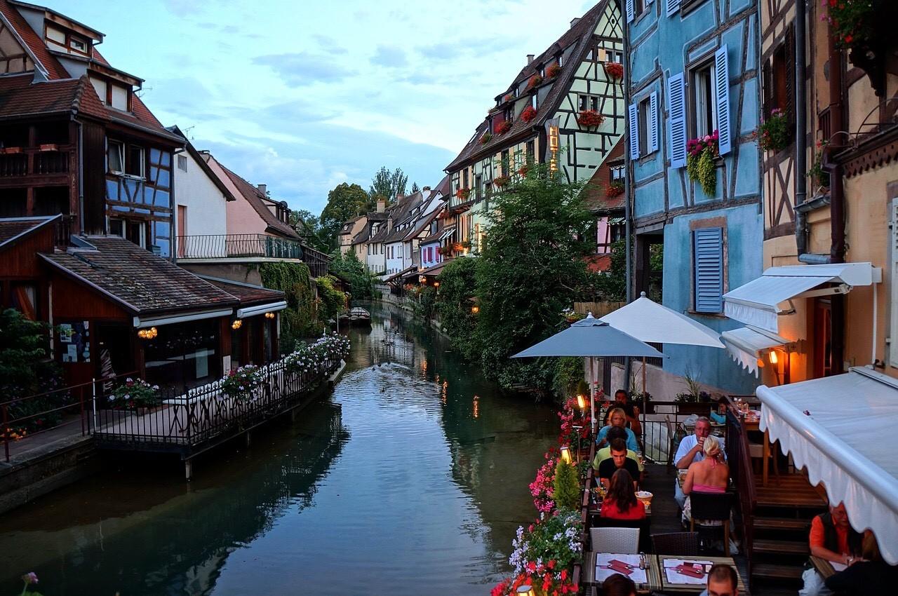 Colmar, France boat ride