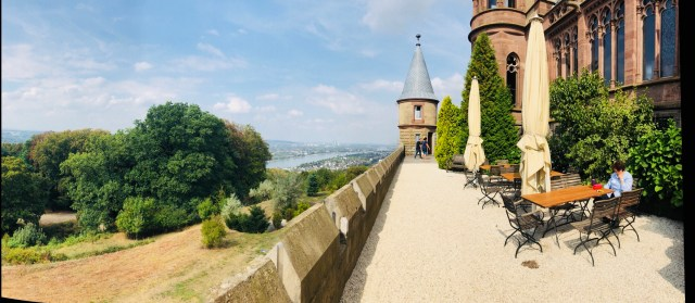 Drachenburg Castle, Königswinter, venus terrace