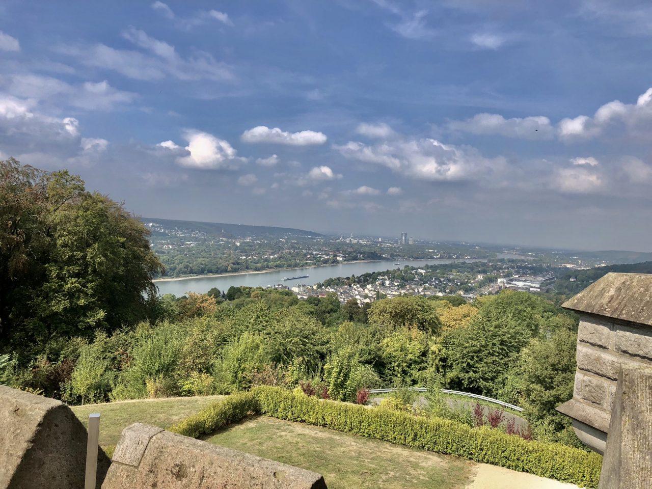 Drachenburg Castle, Königswinter, veranda view to Rhine