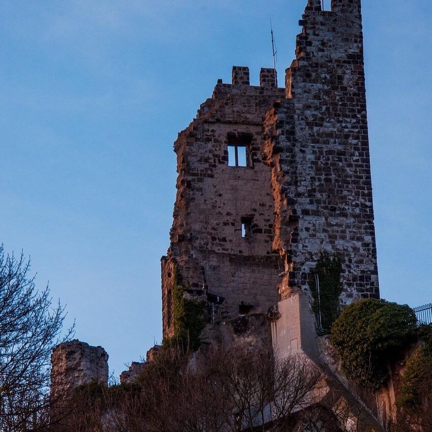 Drachenfels castle, Middle Rhine valley