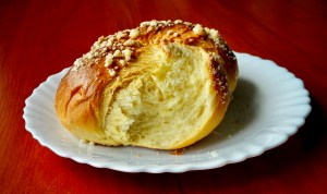 German yeast rolls. Eierweck