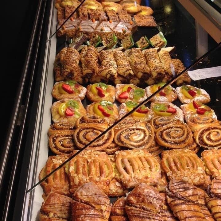 German pastries, Bakery