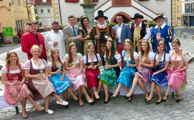 Volkach Wein Prinzessin, Franconia Wine Princesses