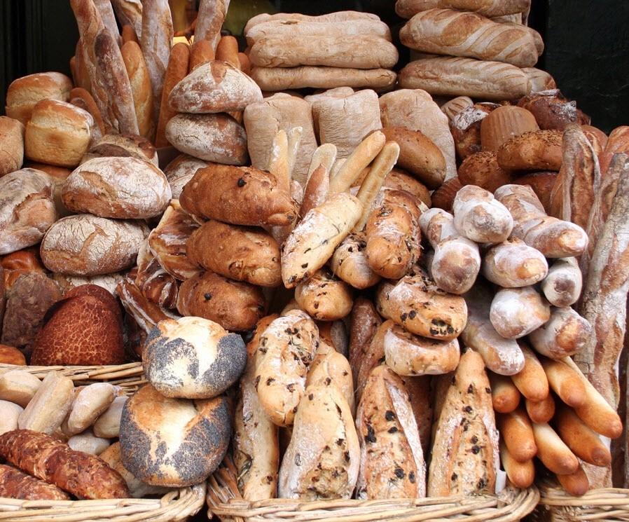 German Rolls, Broetchen, German bread