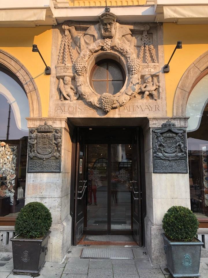 Dallmyer Munich Entrance