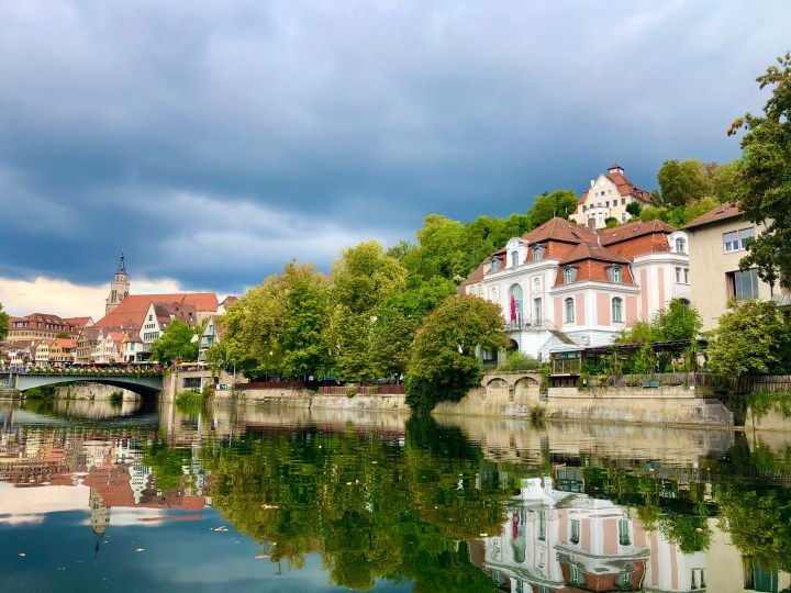 Neckar River Tuebingen boat ride