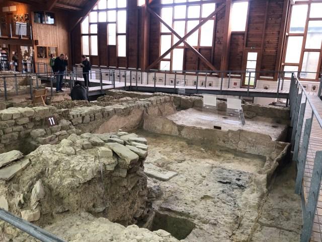 Floor heating, Roman villa in Ahrweiler, Römervilla