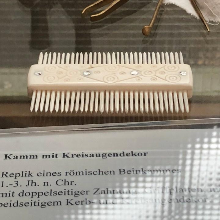 Roman hair comb villa in Ahrweiler, Römervilla