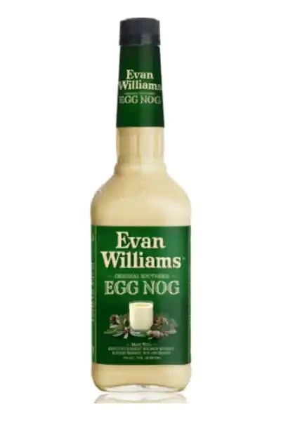Evan Williams Eggnog Liquor with Whiskey