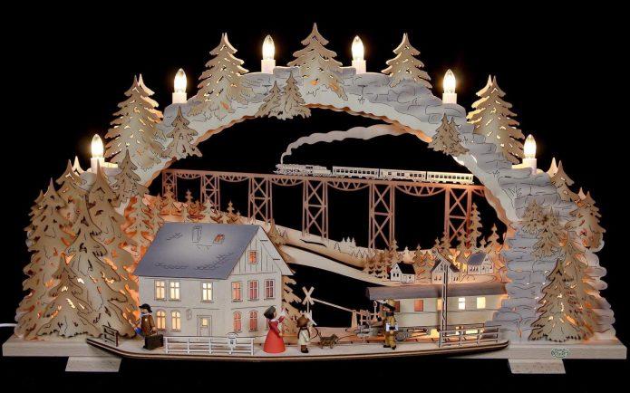 Christmas Schwibbogen Ornament