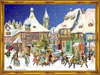 German Chocolate Christmas calendar