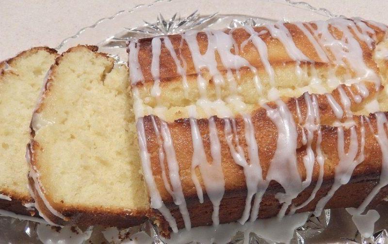 French Lemon cake, Cake au Citron