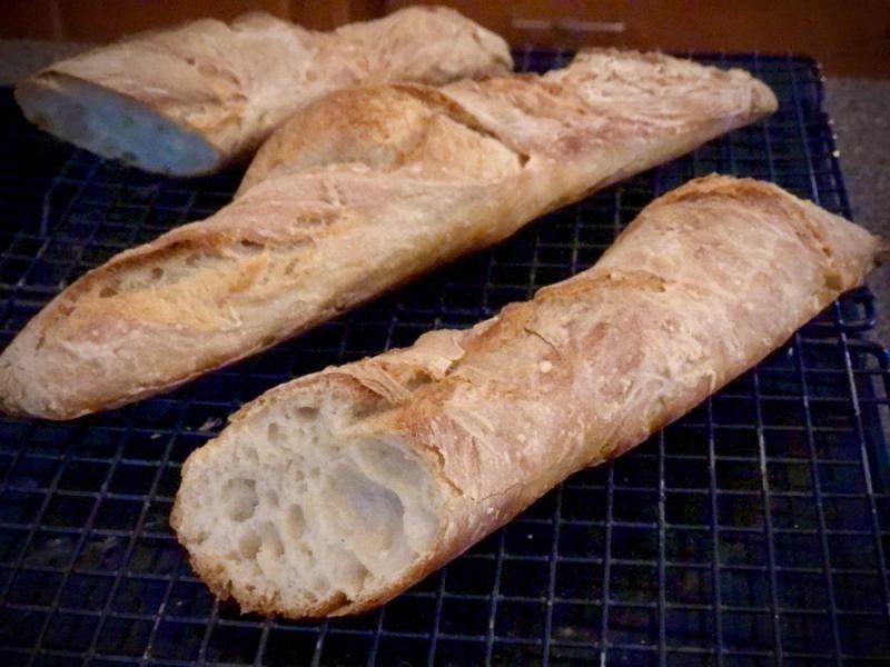 French baguette, Französisches Weissbrot