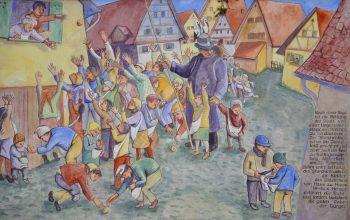 Storchentag in Haslach by Wikimedia