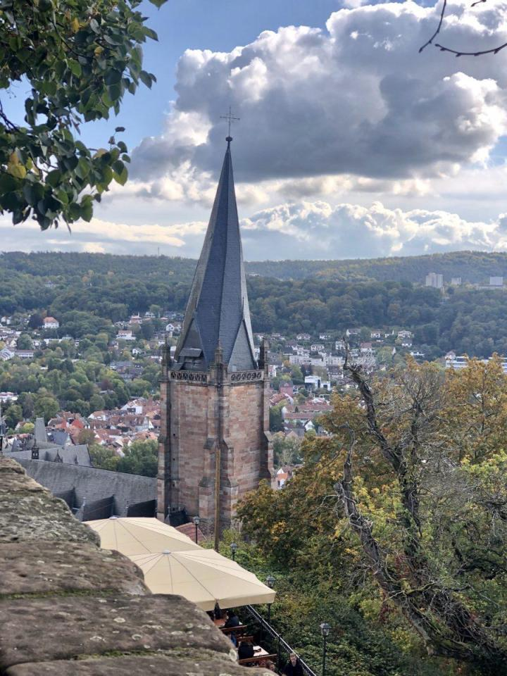 Overlooking Marburg