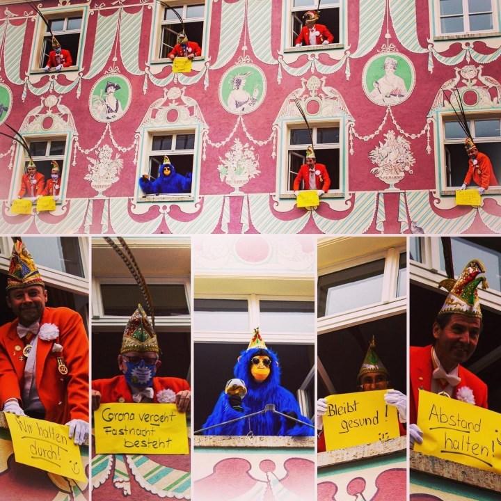 mpressionen von der Proklamation am 11.11. im Hotel & Restaurant Stadt Mainz