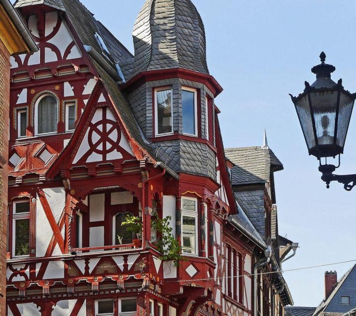 Marburg Fachwerk, half timbered home