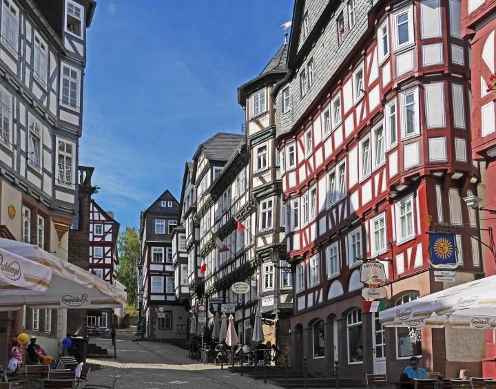 Marburg Fachwerk, half timbered homes