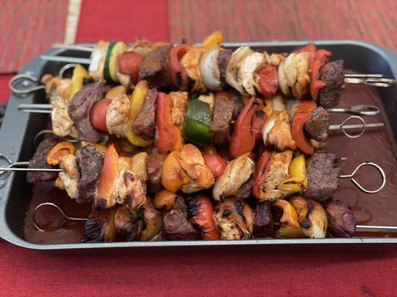 Schaschlik, Kebab