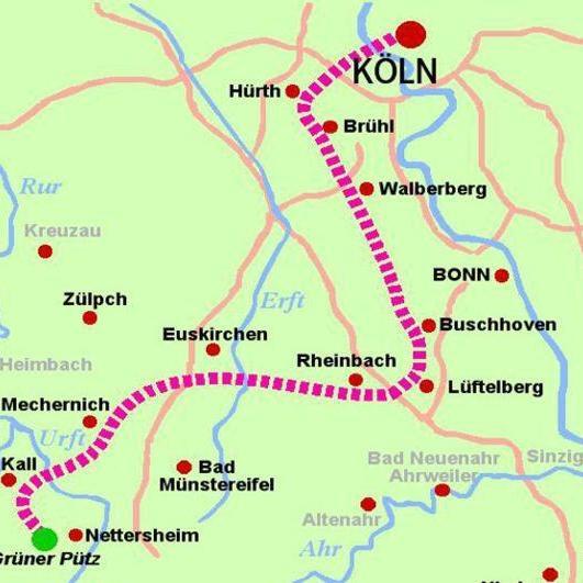 Roman aqueduct Eifel to Cologne